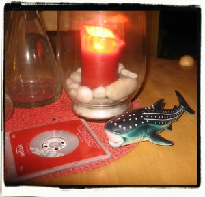 Redbox DVD's, candles and whalesharks. Tsk! Such distractions.