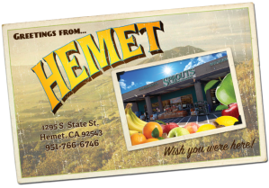 Hm. I've never seen this Hemet Sprouts.
