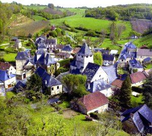 A village.