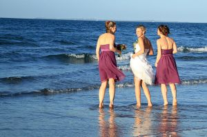 "I don't know them, but I love them. From Wikimedia Commons. Searched for ""Bridesmaids Beach"", hoping for something correlating to my post. Lovely."
